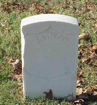 WEST (VETERAN UNION), J L - Pulaski County, Arkansas   J L WEST (VETERAN UNION) - Arkansas Gravestone Photos