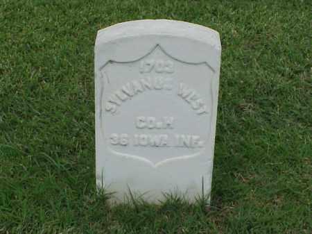 WEST (VETERAN UNION), SYLVANUS - Pulaski County, Arkansas | SYLVANUS WEST (VETERAN UNION) - Arkansas Gravestone Photos