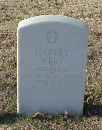 WEST (VETERAN WWI), HARVEY - Pulaski County, Arkansas | HARVEY WEST (VETERAN WWI) - Arkansas Gravestone Photos