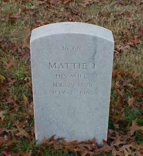 WESTBROOK, MATTIE I - Pulaski County, Arkansas   MATTIE I WESTBROOK - Arkansas Gravestone Photos