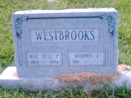 WESTBROOK, MAE  DELL P. - Pulaski County, Arkansas   MAE  DELL P. WESTBROOK - Arkansas Gravestone Photos