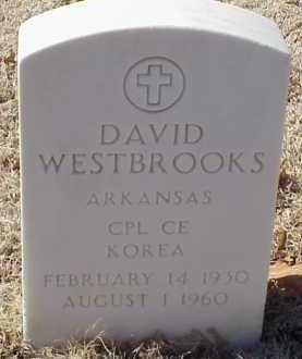 WESTBROOKS  (VETERAN KOR), DAVID - Pulaski County, Arkansas | DAVID WESTBROOKS  (VETERAN KOR) - Arkansas Gravestone Photos