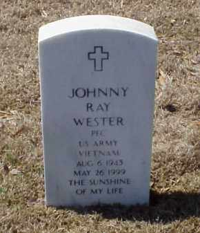 WESTER (VETERAN VIET), JOHNNY RAY - Pulaski County, Arkansas | JOHNNY RAY WESTER (VETERAN VIET) - Arkansas Gravestone Photos