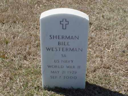 WESTERMAN  (VETERAN WWII), SHERMAN BILL - Pulaski County, Arkansas | SHERMAN BILL WESTERMAN  (VETERAN WWII) - Arkansas Gravestone Photos