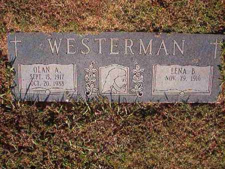 WESTERMAN, OLAN A - Pulaski County, Arkansas | OLAN A WESTERMAN - Arkansas Gravestone Photos