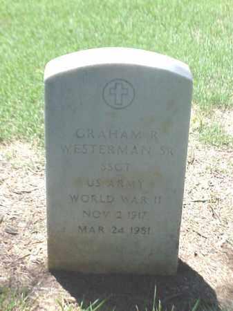 WESTERMAN, SR (VETERAN WWII), GRAHAM R - Pulaski County, Arkansas | GRAHAM R WESTERMAN, SR (VETERAN WWII) - Arkansas Gravestone Photos
