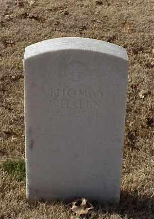 WHALEN (VETERAN UNION), THOMAS - Pulaski County, Arkansas | THOMAS WHALEN (VETERAN UNION) - Arkansas Gravestone Photos