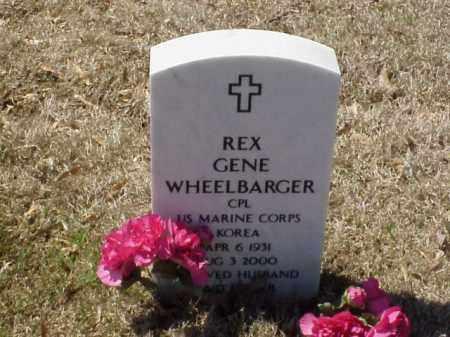 WHEELBARGER  (VETERAN KOR), REX GENE - Pulaski County, Arkansas   REX GENE WHEELBARGER  (VETERAN KOR) - Arkansas Gravestone Photos