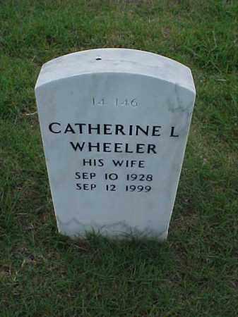 WHEELER, CATHERINE L - Pulaski County, Arkansas | CATHERINE L WHEELER - Arkansas Gravestone Photos