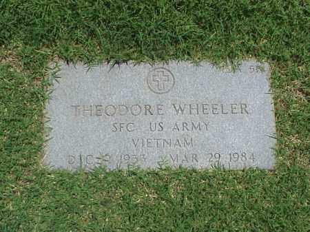 WHEELER (VETERAN VIET), THEODORE - Pulaski County, Arkansas | THEODORE WHEELER (VETERAN VIET) - Arkansas Gravestone Photos