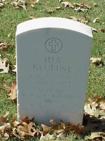 WHIDDEN, IDA PAULINE - Pulaski County, Arkansas | IDA PAULINE WHIDDEN - Arkansas Gravestone Photos