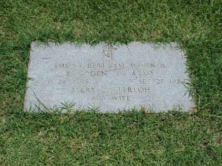 WHISNER (VETERAN 3 WARS), EMONS BERTRAM - Pulaski County, Arkansas | EMONS BERTRAM WHISNER (VETERAN 3 WARS) - Arkansas Gravestone Photos