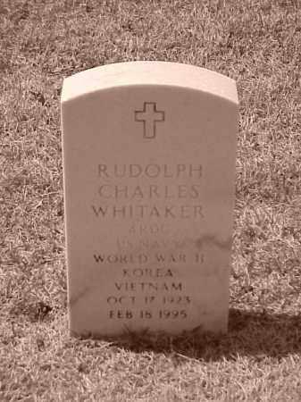 WHITAKER (VETERAN 3 WARS), RUDOLPH CHARLES - Pulaski County, Arkansas   RUDOLPH CHARLES WHITAKER (VETERAN 3 WARS) - Arkansas Gravestone Photos