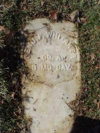 WHITAKER (VETERAN UNION), BENJAMIN F - Pulaski County, Arkansas | BENJAMIN F WHITAKER (VETERAN UNION) - Arkansas Gravestone Photos