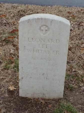 WHITAKER (VETERAN WWI), LEONARD LEE - Pulaski County, Arkansas | LEONARD LEE WHITAKER (VETERAN WWI) - Arkansas Gravestone Photos