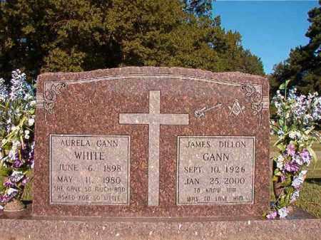WHITE, AURELA - Pulaski County, Arkansas | AURELA WHITE - Arkansas Gravestone Photos