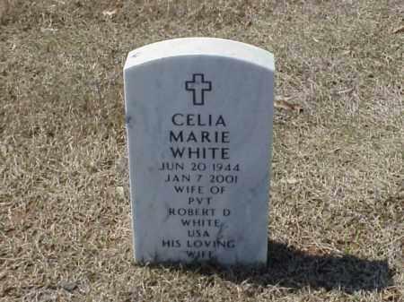 WHITE, CELIA MARIE - Pulaski County, Arkansas | CELIA MARIE WHITE - Arkansas Gravestone Photos