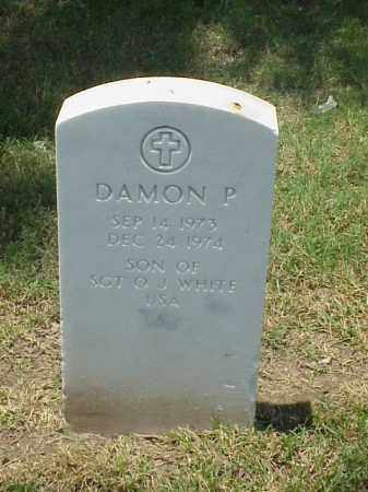 WHITE, DAMON P - Pulaski County, Arkansas | DAMON P WHITE - Arkansas Gravestone Photos