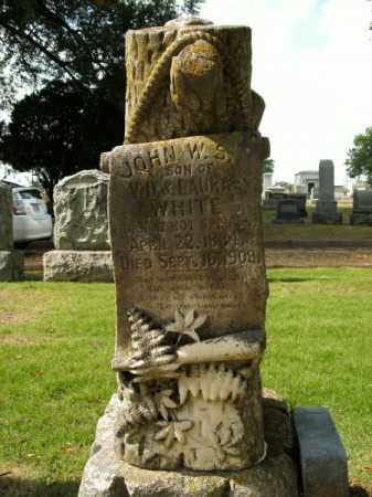 WHITE, JOHN W S - Pulaski County, Arkansas | JOHN W S WHITE - Arkansas Gravestone Photos