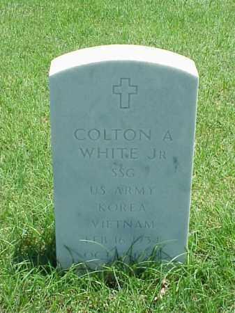WHITE, JR (VETERAN 2 WARS), COLTON A - Pulaski County, Arkansas   COLTON A WHITE, JR (VETERAN 2 WARS) - Arkansas Gravestone Photos