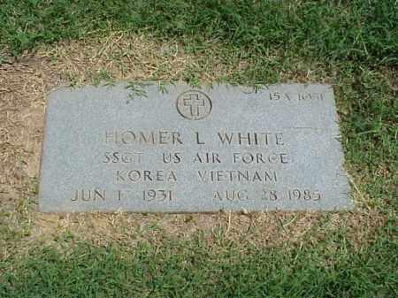 WHITE (VETERAN 2 WARS), HOMER L - Pulaski County, Arkansas | HOMER L WHITE (VETERAN 2 WARS) - Arkansas Gravestone Photos