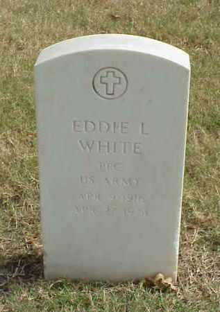 WHITE (VETERAN), EDDIE L - Pulaski County, Arkansas | EDDIE L WHITE (VETERAN) - Arkansas Gravestone Photos