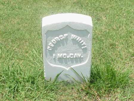 WHITE (VETERAN UNION), GEORGE - Pulaski County, Arkansas   GEORGE WHITE (VETERAN UNION) - Arkansas Gravestone Photos