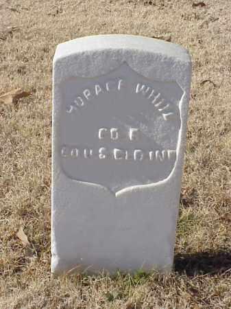 WHITE (VETERAN UNION), HORACE - Pulaski County, Arkansas   HORACE WHITE (VETERAN UNION) - Arkansas Gravestone Photos