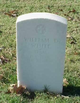 WHITE (VETERAN UNION), WILLIAM D - Pulaski County, Arkansas | WILLIAM D WHITE (VETERAN UNION) - Arkansas Gravestone Photos