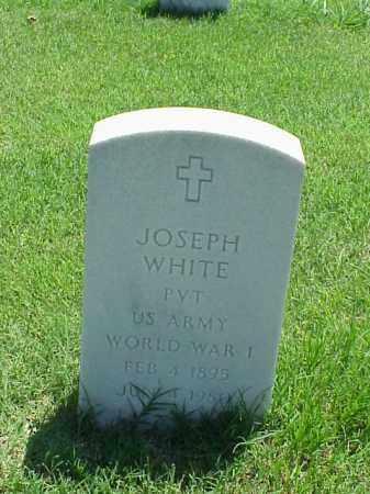 WHITE (VETERAN WWI), JOSEPH - Pulaski County, Arkansas | JOSEPH WHITE (VETERAN WWI) - Arkansas Gravestone Photos