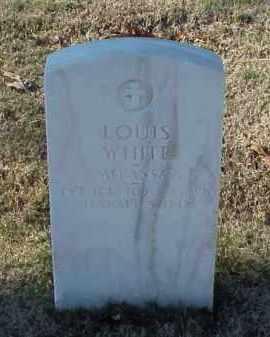 WHITE (VETERAN WWI), LOUIS - Pulaski County, Arkansas   LOUIS WHITE (VETERAN WWI) - Arkansas Gravestone Photos
