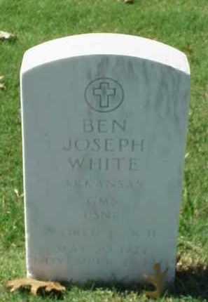 WHITE (VETERAN WWII), BEN JOSEPH - Pulaski County, Arkansas   BEN JOSEPH WHITE (VETERAN WWII) - Arkansas Gravestone Photos