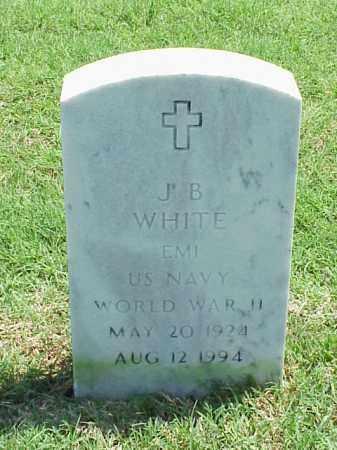 WHITE (VETERAN WWII), J B - Pulaski County, Arkansas   J B WHITE (VETERAN WWII) - Arkansas Gravestone Photos
