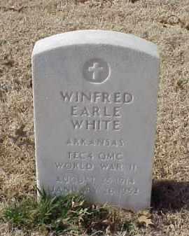 WHITE (VETERAN WWII), WINFRED EARLE - Pulaski County, Arkansas | WINFRED EARLE WHITE (VETERAN WWII) - Arkansas Gravestone Photos