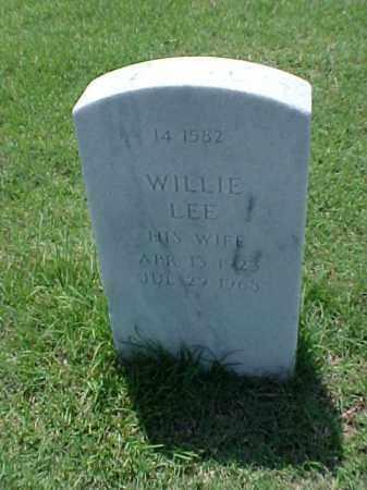 WHITE, WILLIE LEE - Pulaski County, Arkansas | WILLIE LEE WHITE - Arkansas Gravestone Photos