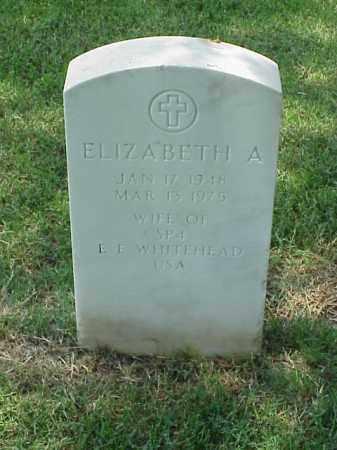 WHITEHEAD, ELIZABETH ANN - Pulaski County, Arkansas | ELIZABETH ANN WHITEHEAD - Arkansas Gravestone Photos