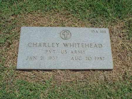 WHITEHEAD (VETERAN), CHARLEY - Pulaski County, Arkansas | CHARLEY WHITEHEAD (VETERAN) - Arkansas Gravestone Photos