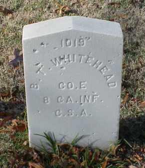 WHITEHEAD (VETERAN CSA), B T - Pulaski County, Arkansas   B T WHITEHEAD (VETERAN CSA) - Arkansas Gravestone Photos