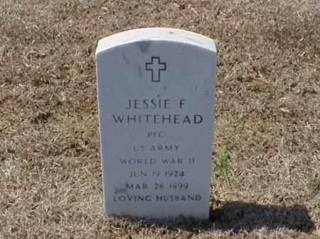 WHITEHEAD (VETERAN WWII), JESSIE F - Pulaski County, Arkansas   JESSIE F WHITEHEAD (VETERAN WWII) - Arkansas Gravestone Photos