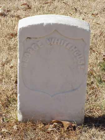 WHITEHOUSE (VETERAN UNION), GEORGE - Pulaski County, Arkansas   GEORGE WHITEHOUSE (VETERAN UNION) - Arkansas Gravestone Photos