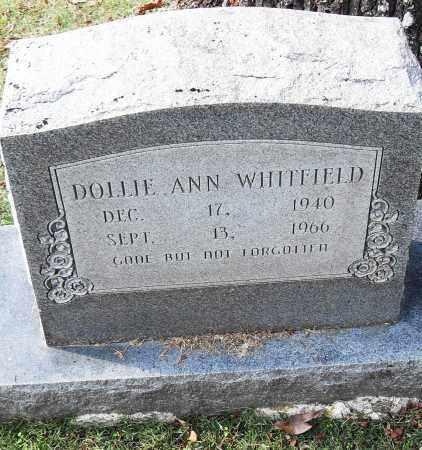 WHITFIELD, DOLLIE ANN - Pulaski County, Arkansas | DOLLIE ANN WHITFIELD - Arkansas Gravestone Photos