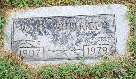 WHITFIELD, W. H. - Pulaski County, Arkansas   W. H. WHITFIELD - Arkansas Gravestone Photos
