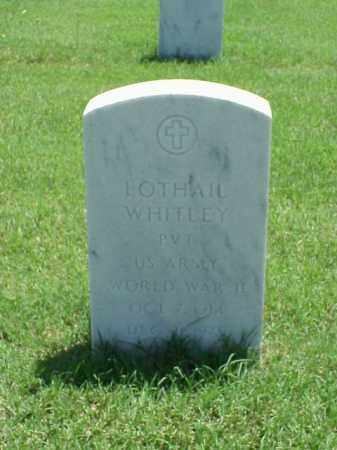 WHITLEY (VETERAN WWII), LOTHAIL - Pulaski County, Arkansas | LOTHAIL WHITLEY (VETERAN WWII) - Arkansas Gravestone Photos