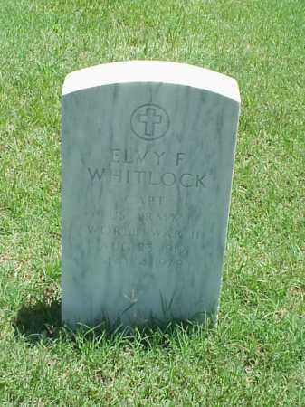 WHITLOCK (VETERAN WWII), ELVY F - Pulaski County, Arkansas   ELVY F WHITLOCK (VETERAN WWII) - Arkansas Gravestone Photos