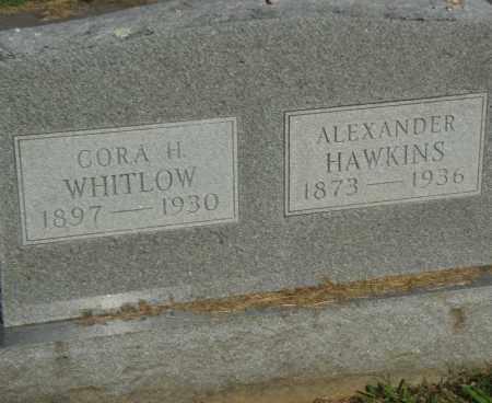 WHITLOW, CORA H. - Pulaski County, Arkansas   CORA H. WHITLOW - Arkansas Gravestone Photos