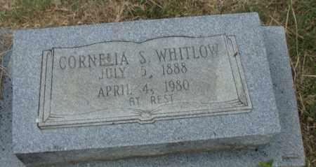 WHITLOW, CORNELIA S. - Pulaski County, Arkansas   CORNELIA S. WHITLOW - Arkansas Gravestone Photos