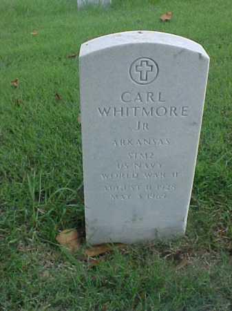 WHITMORE, JR (VETERAN WWII), CARL - Pulaski County, Arkansas | CARL WHITMORE, JR (VETERAN WWII) - Arkansas Gravestone Photos