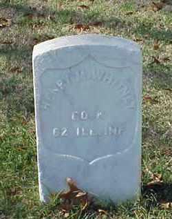 WHITNEY (VETERAN UNION), HENRY M - Pulaski County, Arkansas   HENRY M WHITNEY (VETERAN UNION) - Arkansas Gravestone Photos