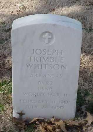 WHITSON (VETERAN WWII), JOSEPH TRIMBLE - Pulaski County, Arkansas | JOSEPH TRIMBLE WHITSON (VETERAN WWII) - Arkansas Gravestone Photos