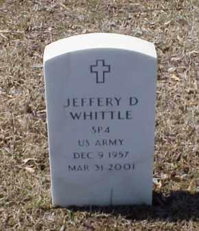 WHITTLE (VETERAN), JEFFERY D - Pulaski County, Arkansas   JEFFERY D WHITTLE (VETERAN) - Arkansas Gravestone Photos